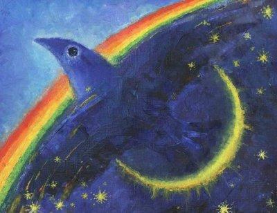 Синяя Птица. Выход за пределы. Худ. Оксана Шапкарина