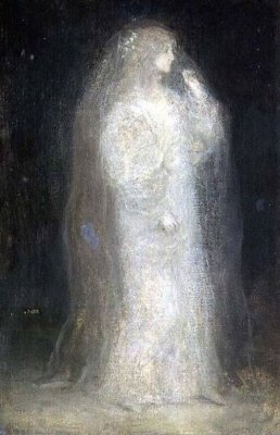 Matthijs Maris, The Bride, or Novice taking the Veil, 1887